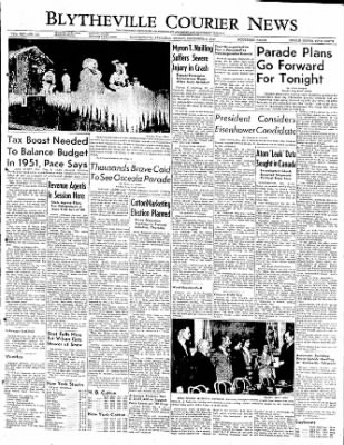 The Courier News from Blytheville, Arkansas on December 9, 1949 · Page 1