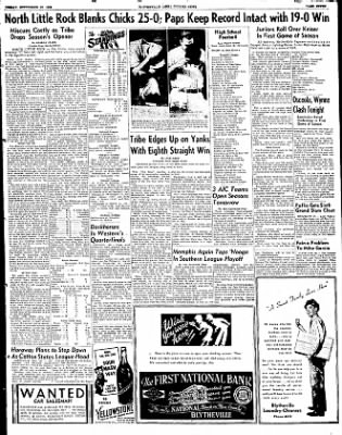 The Courier News from Blytheville, Arkansas on September 12, 1952 · Page 7