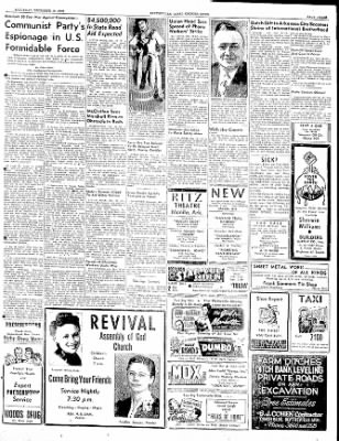 The Courier News from Blytheville, Arkansas on December 10, 1949 · Page 3