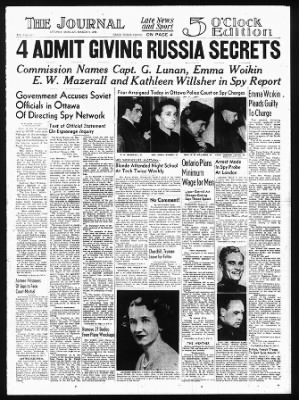 The Ottawa Journal from Ottawa,  on March 4, 1946 · Page 1