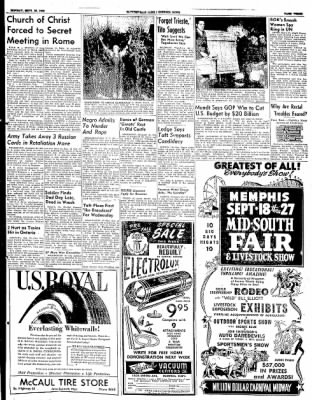 The Courier News from Blytheville, Arkansas on September 15, 1952 · Page 3