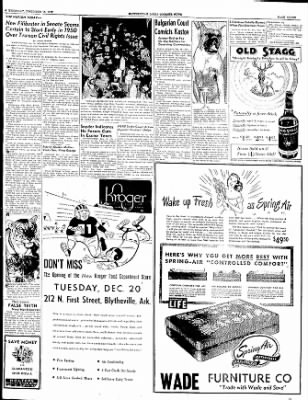 The Courier News from Blytheville, Arkansas on December 15, 1949 · Page 7