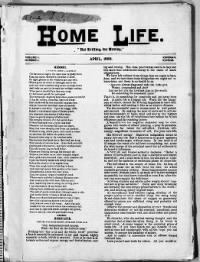 Sample Home Life front page