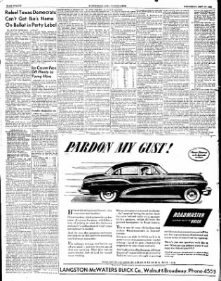 The Courier News from Blytheville, Arkansas on September 17, 1952 · Page 12