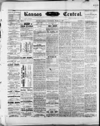 Sample Kansas Central front page