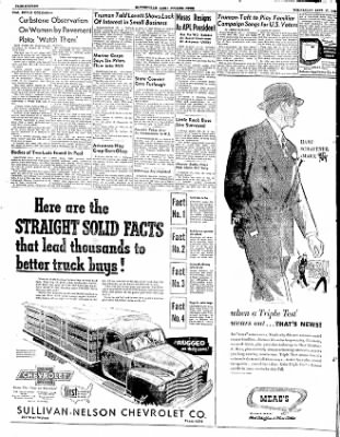 The Courier News from Blytheville, Arkansas on September 17, 1952 · Page 16