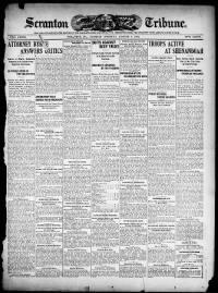 Sample The Scranton Tribune front page