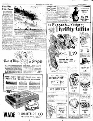 The Courier News from Blytheville, Arkansas on December 19, 1949 · Page 6
