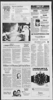 Calgary Herald from Calgary, Alberta, Alberta, Canada on December 5, 2007 · 2