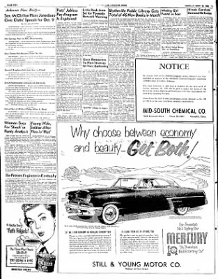 The Courier News from Blytheville, Arkansas on September 23, 1952 · Page 2