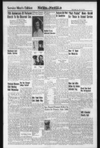 Servicemen's Edition News Herald
