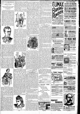 Logansport Pharos-Tribune from Logansport, Indiana on April 11, 1891 · Page 6