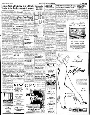 The Courier News from Blytheville, Arkansas on September 25, 1952 · Page 5