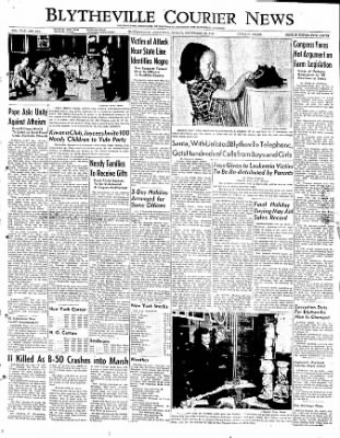 The Courier News from Blytheville, Arkansas on December 23, 1949 · Page 1