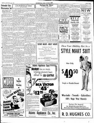The Courier News from Blytheville, Arkansas on December 23, 1949 · Page 5