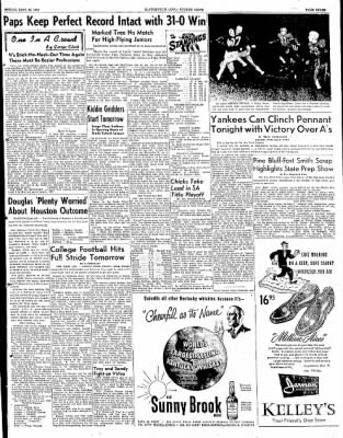 The Courier News from Blytheville, Arkansas on September 26, 1952 · Page 7