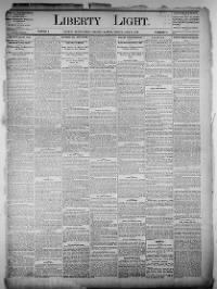 Sample Liberty Light front page