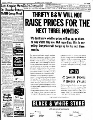 The Courier News from Blytheville, Arkansas on July 31, 1950 · Page 3