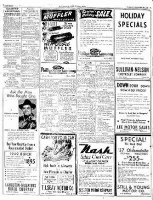 The Courier News from Blytheville, Arkansas on December 27, 1949 · Page 8