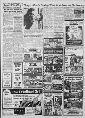 Lubbock Evening Journal from Lubbock, Texas on February 2, 1955 · Page 20