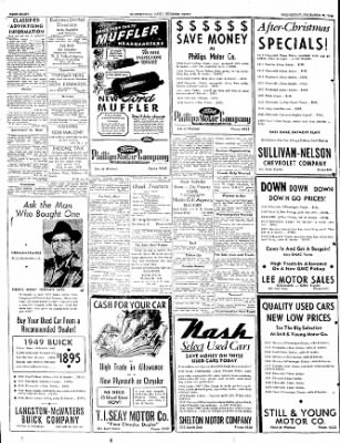 The Courier News from Blytheville, Arkansas on December 28, 1949 · Page 8