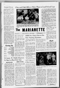 Sample The Marianette front page