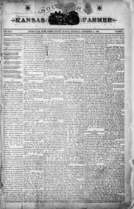 Sample The Kansas Commonwealth front page