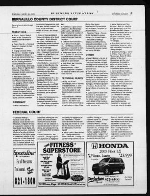 Albuquerque Journal from Albuquerque, New Mexico on March 10