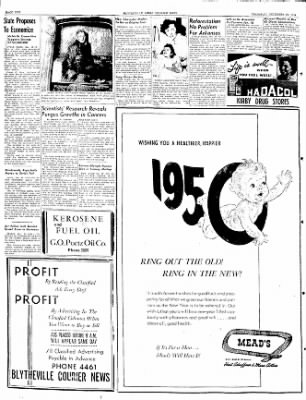 The Courier News from Blytheville, Arkansas on December 29, 1949 · Page 10