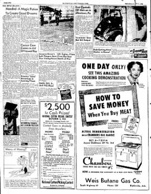 The Courier News from Blytheville, Arkansas on October 1, 1952 · Page 2