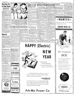 The Courier News from Blytheville, Arkansas on December 30, 1949 · Page 12