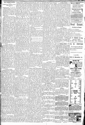 Logansport Pharos-Tribune from Logansport, Indiana on April 12, 1891 · Page 2
