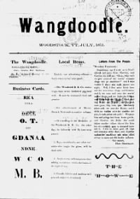 Sample Wangdoodle front page