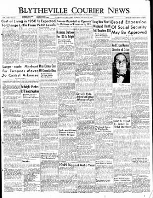 The Courier News from Blytheville, Arkansas on January 2, 1950 · Page 1
