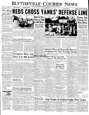 The Courier News from Blytheville, Arkansas on August 5, 1950 · Page 1