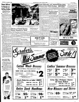 The Courier News from Blytheville, Arkansas on August 8, 1950 · Page 1