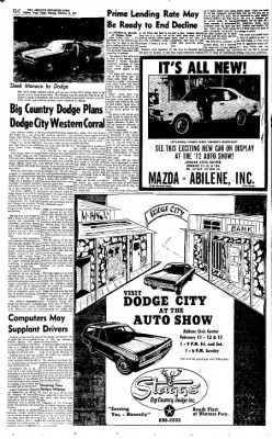 Abilene ReporterNews From Abilene Texas On February Page - Car show abilene tx