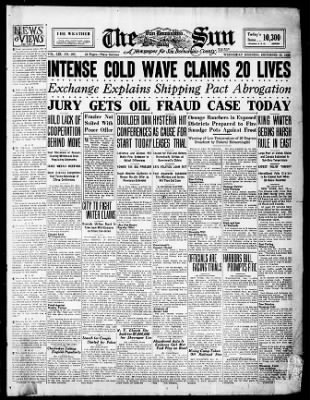 The San Bernardino County Sun from San Bernardino, California on December 15, 1926 · Page 1