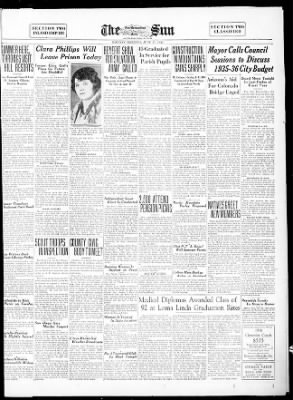 The San Bernardino County Sun from San Bernardino, California on June 17, 1935 · Page 3