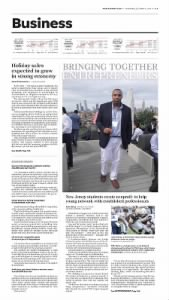 Sample Herald News front page