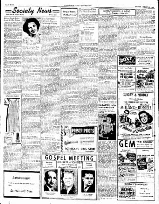 The Courier News from Blytheville, Arkansas on August 18, 1950 · Page 4