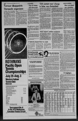 1975 Rothmans Canadian Open
