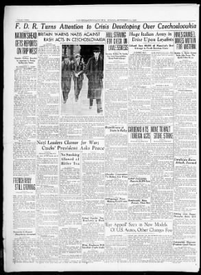 The San Bernardino County Sun from San Bernardino, California on September 11, 1938 · Page 2