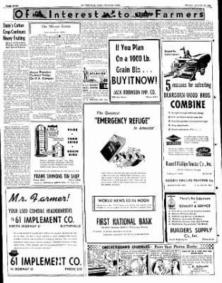 The Courier News from Blytheville, Arkansas on August 18, 1950 · Page 8