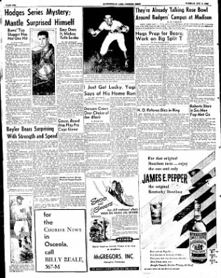 The Courier News from Blytheville, Arkansas on October 7, 1952 · Page 10