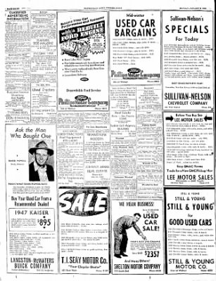 The Courier News from Blytheville, Arkansas on January 9, 1950 · Page 8