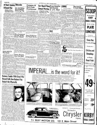 The Courier News from Blytheville, Arkansas on August 21, 1950 · Page 2