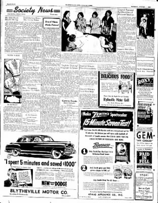 The Courier News from Blytheville, Arkansas on August 22, 1950 · Page 4