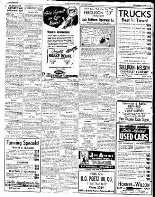 The Courier News from Blytheville, Arkansas on October 8, 1952 · Page 12