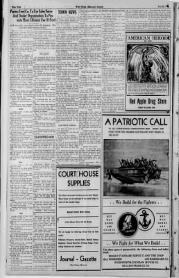 The West Plains Journal from West Plains, Missouri on July 22, 1943 · 8